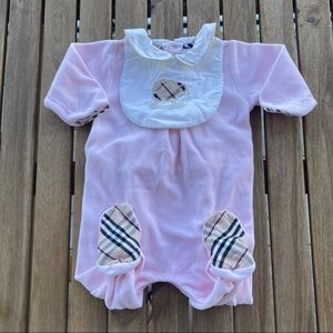 Pajamas Babygrow rompers 0 / 3 months Burberry